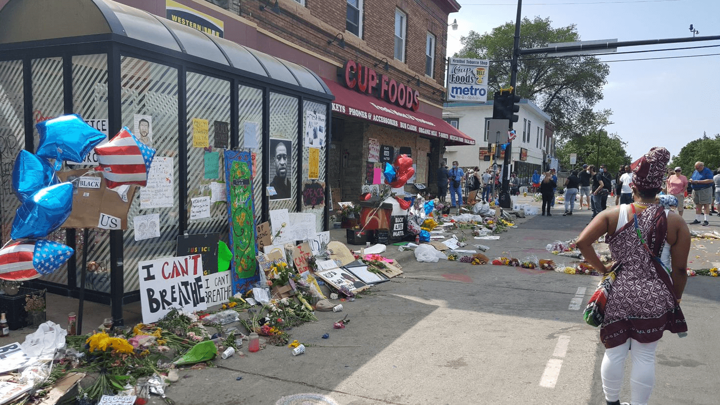 [Click to view gallery] Attorney at Law Magazine Minnesota Publisher David Seawell photographed the initial police incident area turned memorial and surrounding areas of Minneapolis on the morning of Saturday May 30.