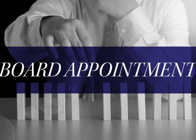 Talk of the Town Board Appointment