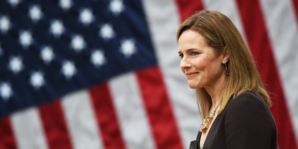 Amy Coney Barrett Olivier Douliery / AFP - Getty Images