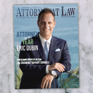 Attorney at Law Magazine Los Angeles Vol. 2 No. 11