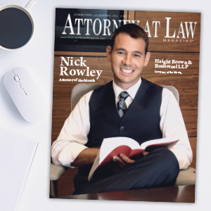 Attorney at Law Magazine Los Angeles Vol. 3 No. 7