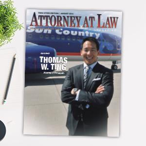 Attorney at Law Magazine Minnesota Vol. 3 No. 8
