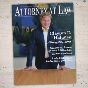 Attorney at Law Magazine Minnesota Vol. 5 No. 10