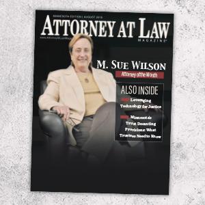Attorney at Law Magazine Minnesota Vol. 5 No. 8