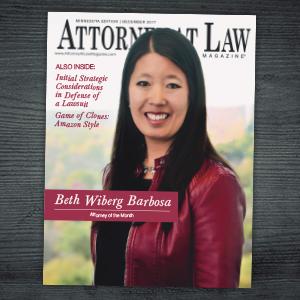 Attorney at Law Magazine Minnesota Vol. 6 No. 12