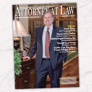 Attorney at Law Magazine NC Triangle Premiere