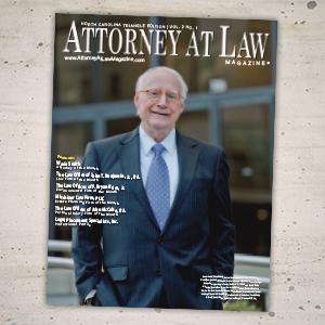 Attorney at Law Magazine NC Triangle Vol. 2 No. 1