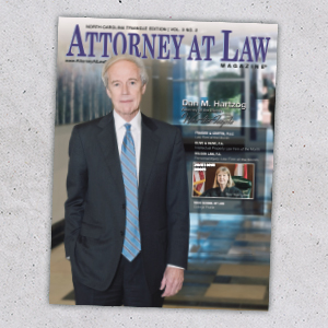 Attorney at Law Magazine NC Triangle Vol. 3 No. 2