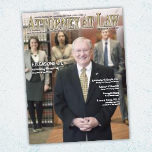Attorney at Law Magazine NC Triangle Vol. 3 No. 3