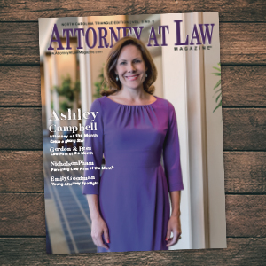 Attorney at Law Magazine NC Triangle Vol. 3 No. 5