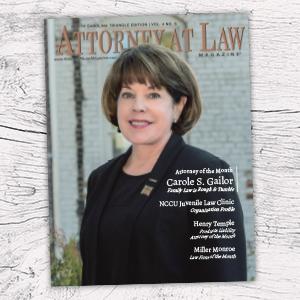 Attorney at Law Magazine NC Triangle Vol. 4 No. 6