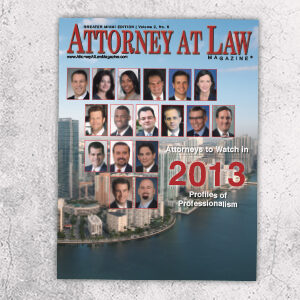 Attorney at Law Magazine Miami Vol. 2 No. 6