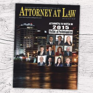 Attorney at Law Magazine Palm Beach Vol. 4 No. 1