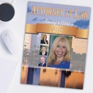 Attorney at Law Magazine Palm Beach Vol. 5 No. 1