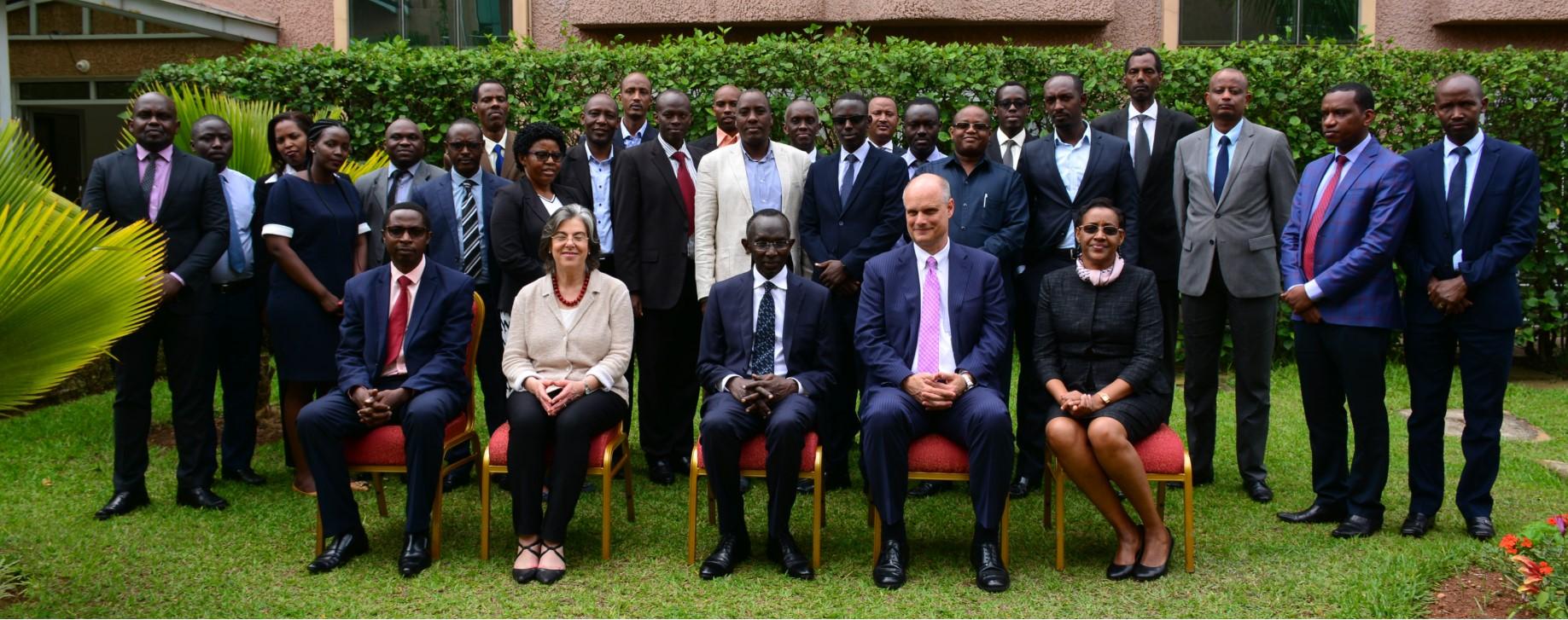 Weinstein International Foundation conference in Rwanda.