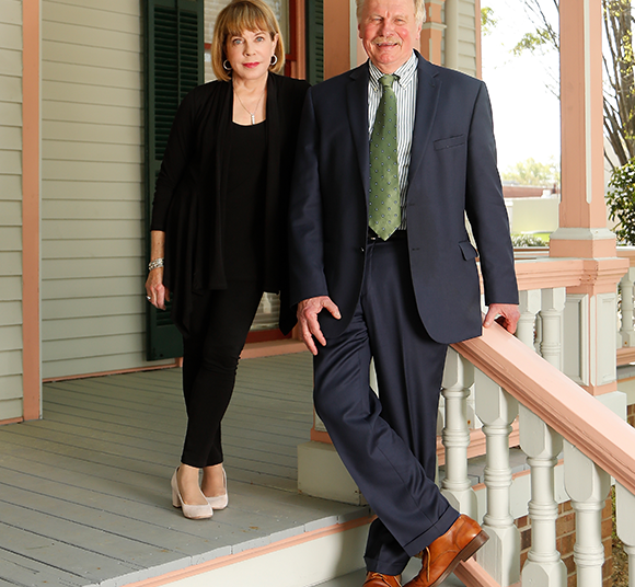 Carole Gailor and Dean Rich Leonard