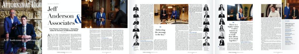 Jeff Anderson & Associates story