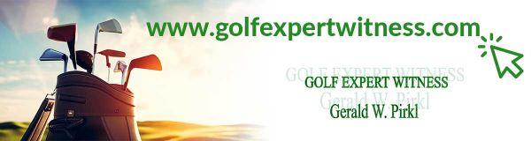 Golf Expert Witness