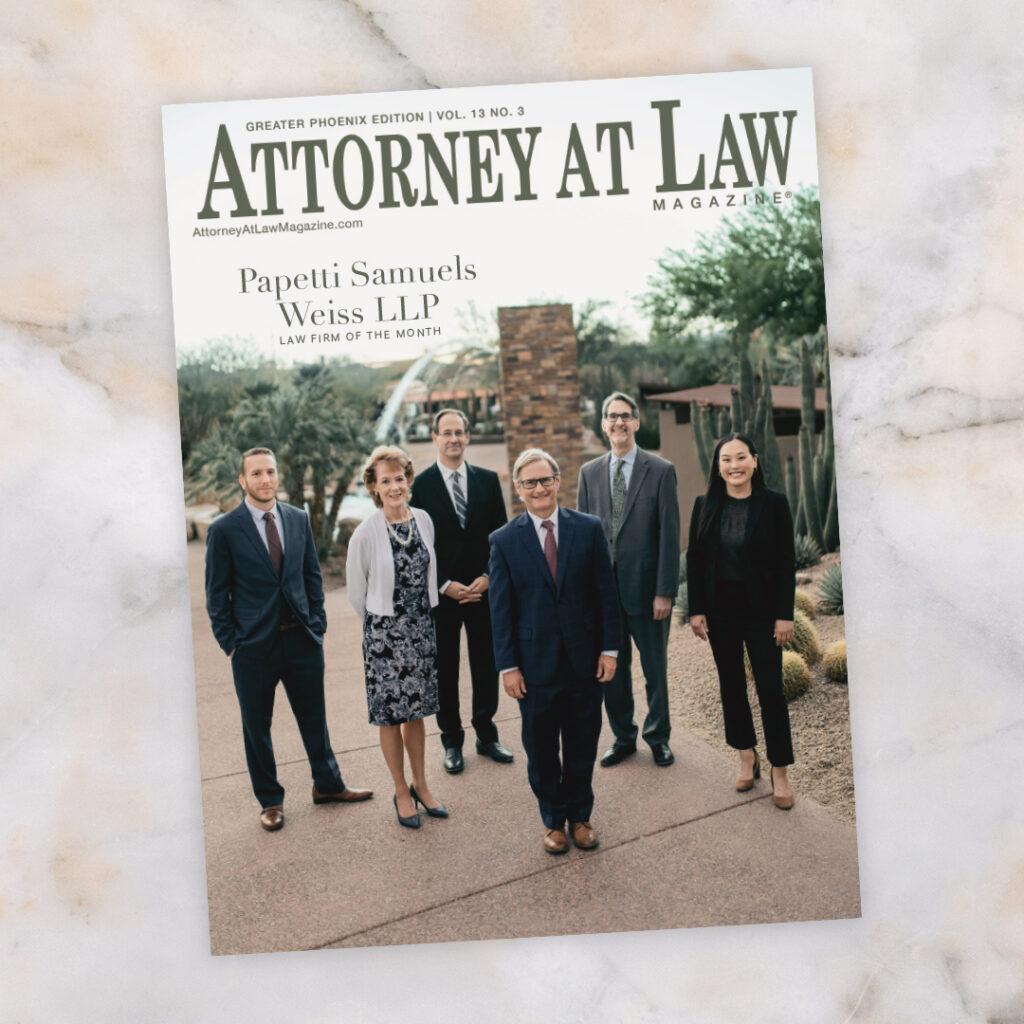 Attorney at Law Magazine Phoenix Vol. 13 No. 3