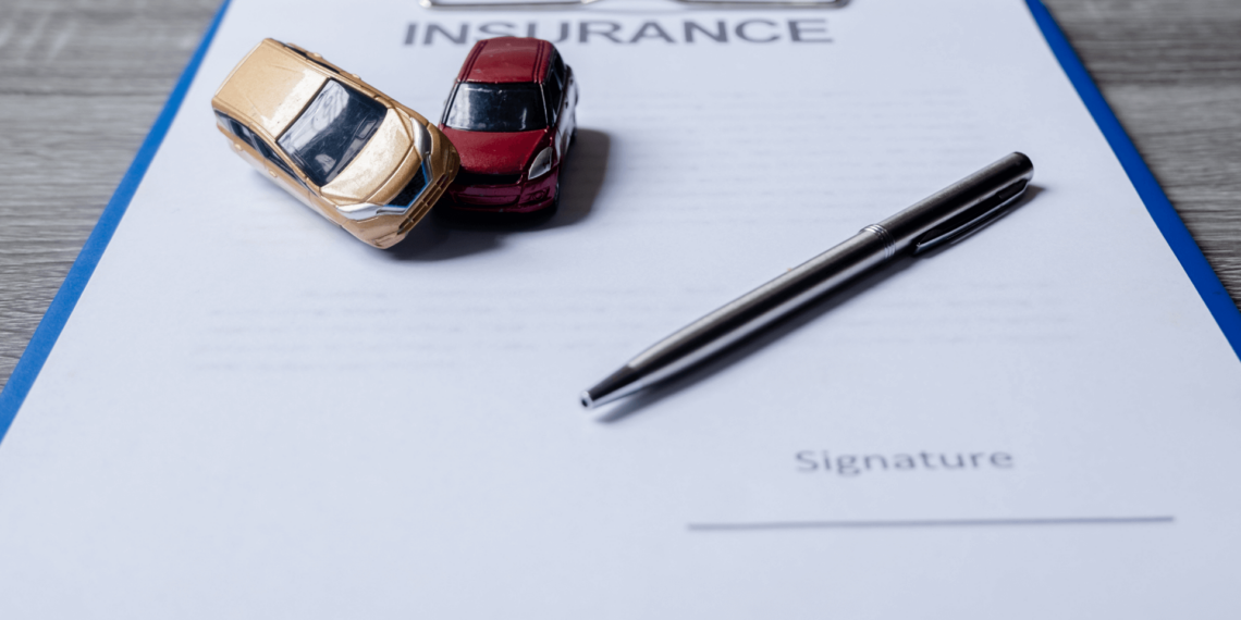 paper with bad faith tactics used by car insurance companies