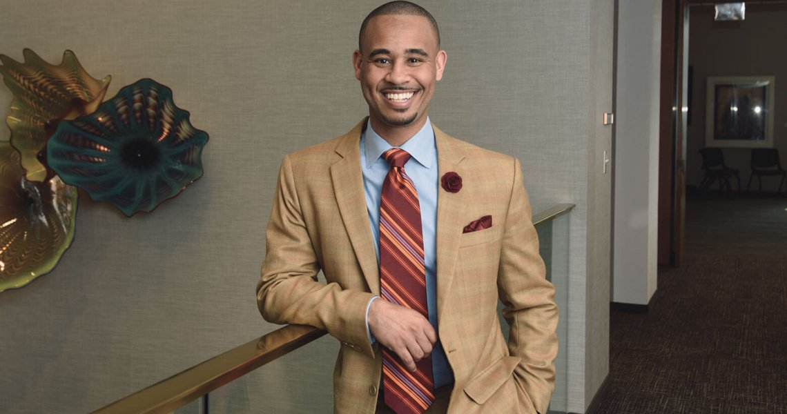 Attorney of the Month Brandon Vaughn