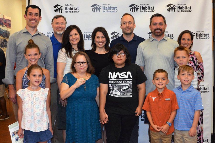 Dallas Bar Association Dedicates 29th Habitat for Humanity House
