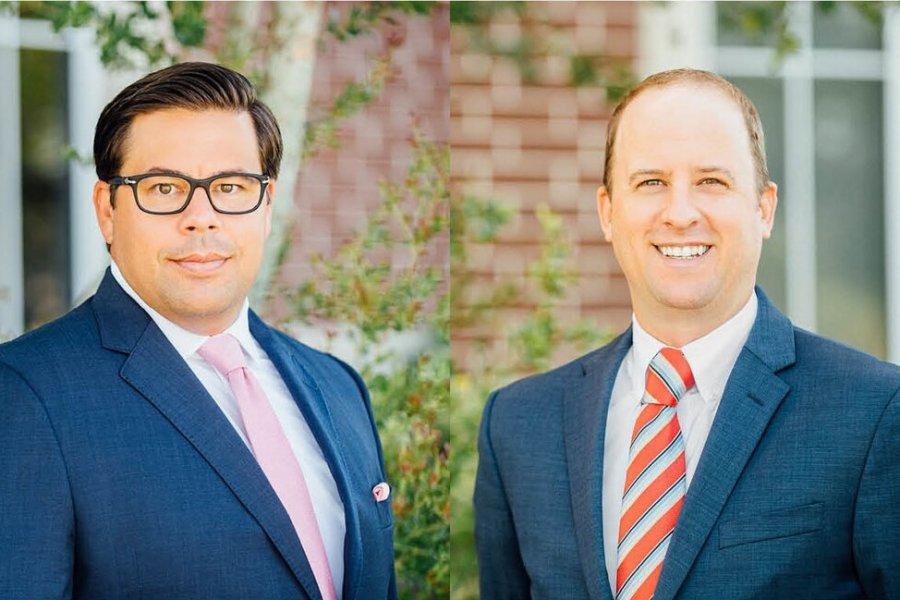 """R. Ryan Rivas and James """"JJ"""" Maskowitz"""