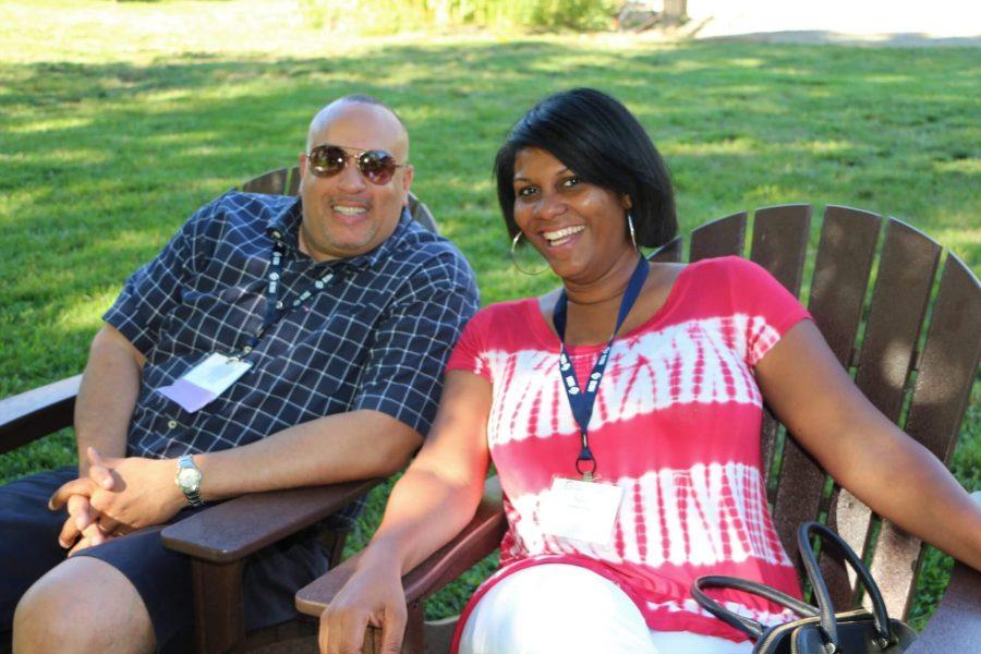 Brian Beverly and Tamla Tymus