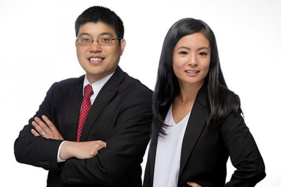Norman Lau and Janet Choi