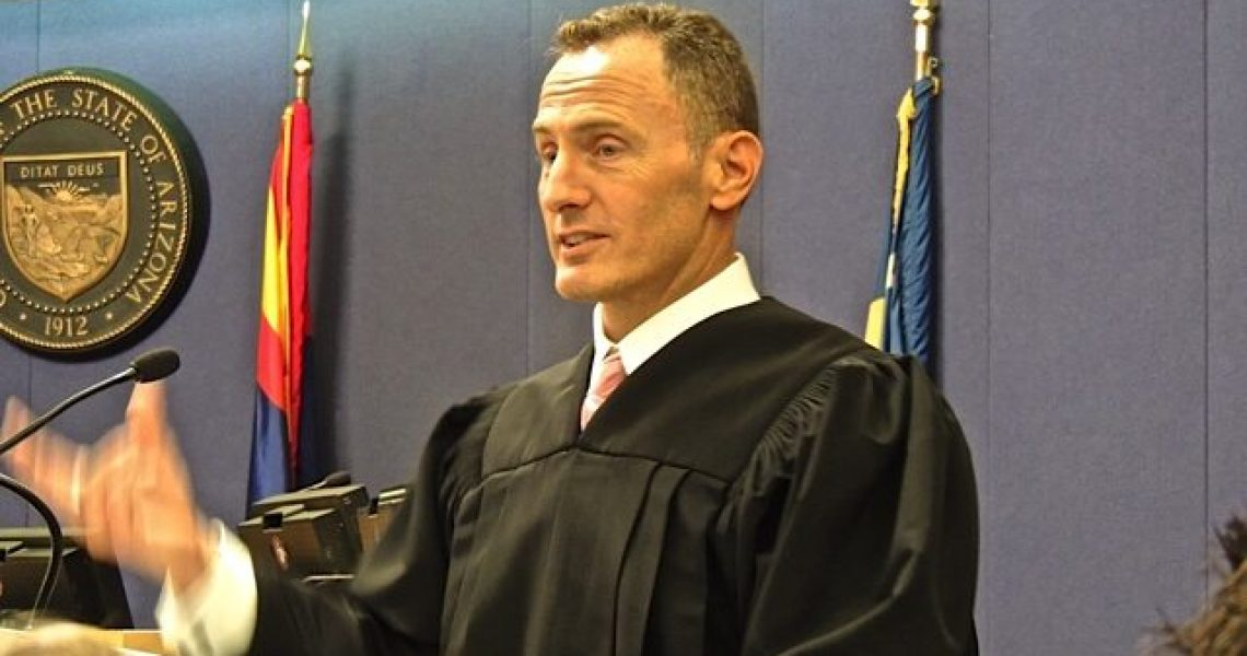Superior Court Judge James D. Smith | Photo courtesy of Sharon Anck