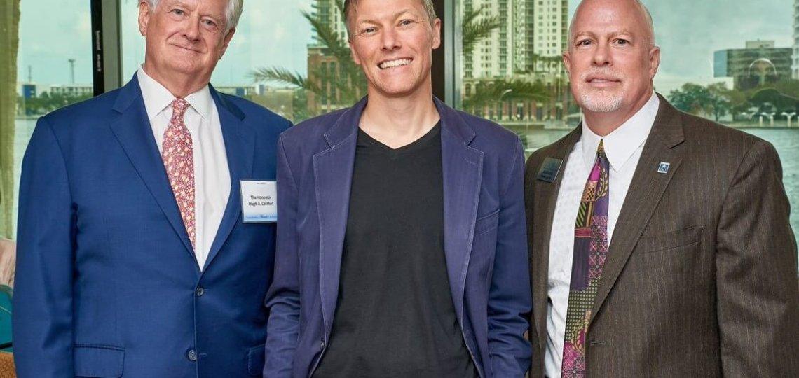 Hon. Hugh A. Carithers, Matthew Desmond and Jim Kowalski
