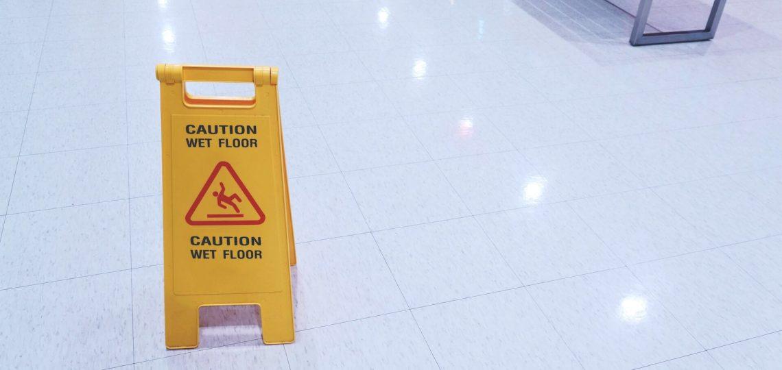 file a slip and fall claim in Spokane Washington