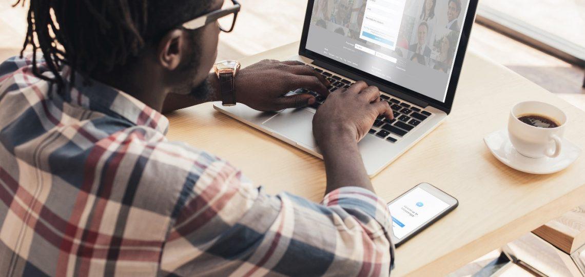 get clients through LinkedIn
