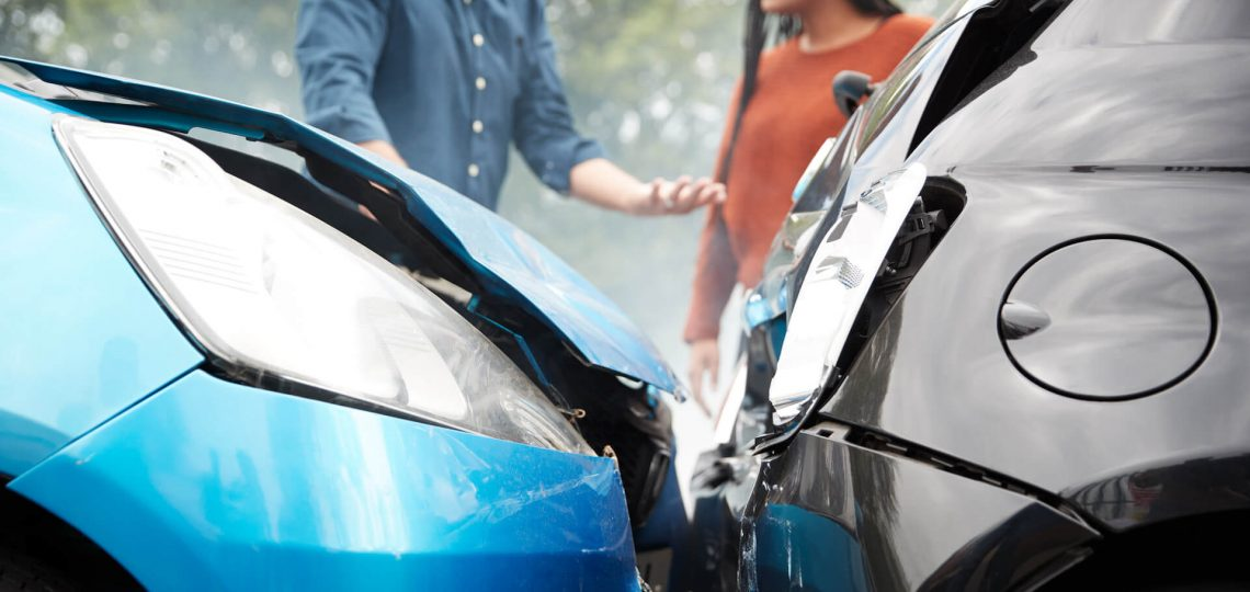 how to determine who is at fault for a car accident in thousand oaks california
