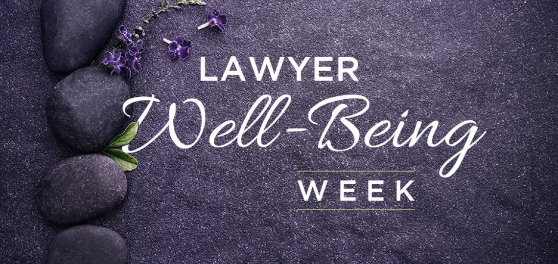 Lawyer well-being week 2020