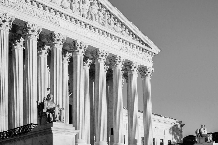 United States Supreme Court Building - Washington DC USA