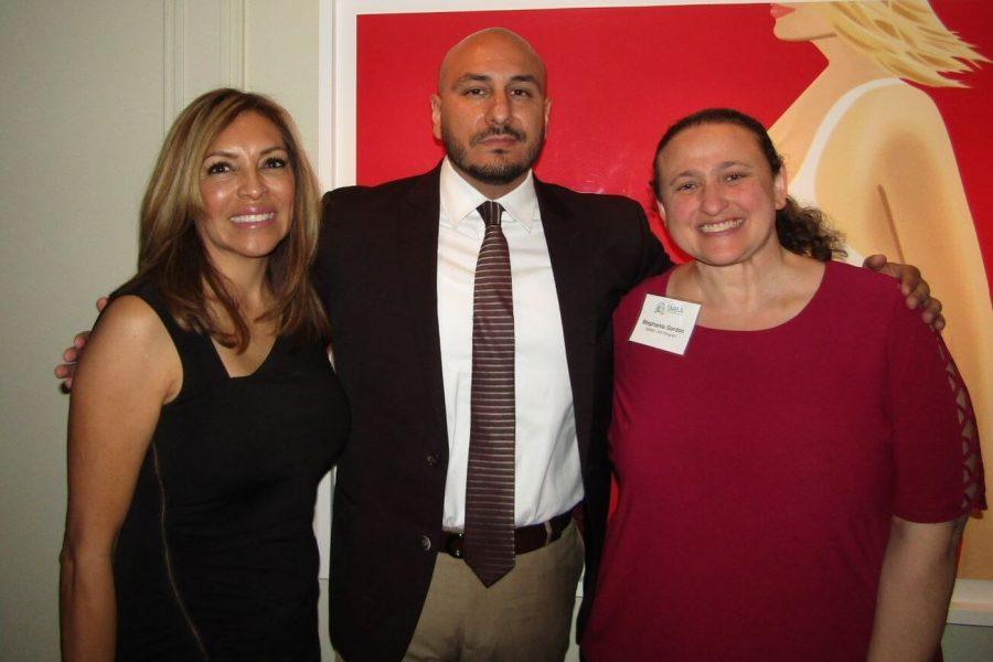 Yolanda Plascencia, Maria Meza and Stephanie Gordon
